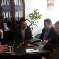 Takimi me Inspektoratin sanitarë në komunën e Prizrenit