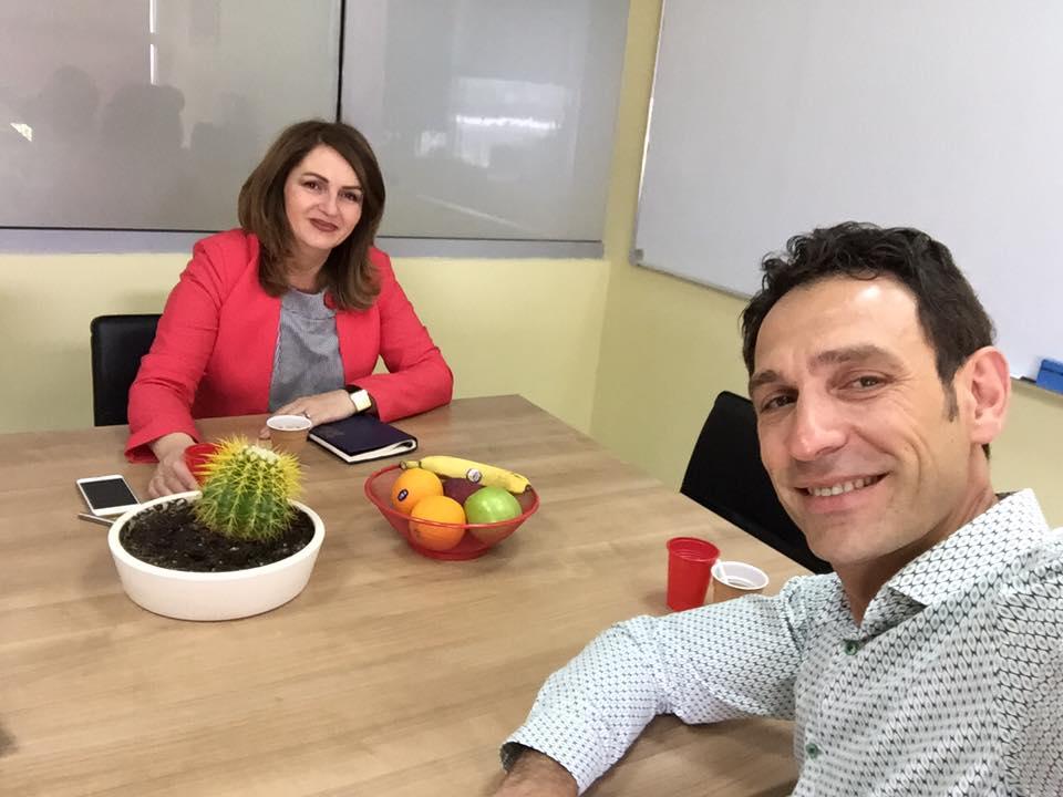 Arben Lila, menaxheri i KADC, takohet me Drejtoreshën e Arsimit nga Komuna e Prishtinës, Arbërie Nagavci