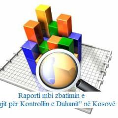 """Raporti mbi zbatimin e """"Ligjit për Kontrollin e Duhanit periudha tetor 2014"""" në Kosovë"""